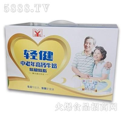 蜜园轻健中老年高钙牛奶