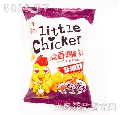 华妞麦香鸡味块烤鸡味