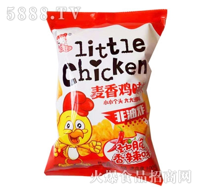 华妞麦香鸡味块香辣味