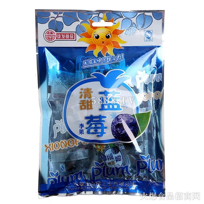 雄发蓝莓李果80g