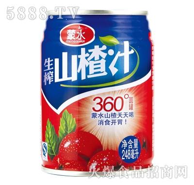 蒙水生榨山楂汁248ml