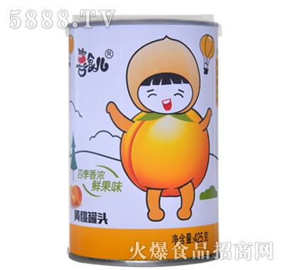 喜食儿黄桃罐头425g
