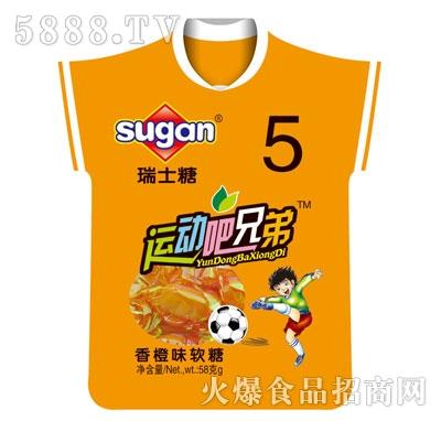 sugan香橙味软糖58g