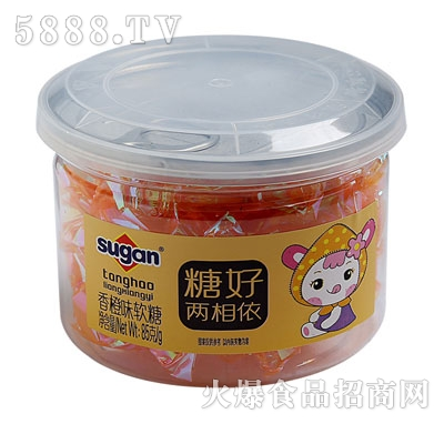 sugan香橙味软糖85g
