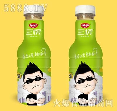 三愣柚子绿茶果味饮料