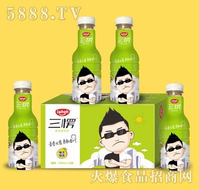 三愣柚子绿茶果味饮料450mlX15瓶