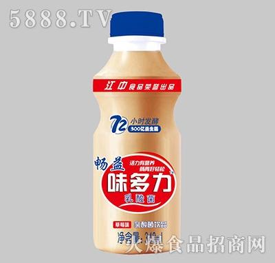 畅益味多力乳酸菌饮品草莓味340ml
