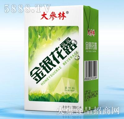 大参林金银花露茶饮料200ml