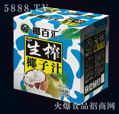 椰百汇生榨椰子汁1.25LX6