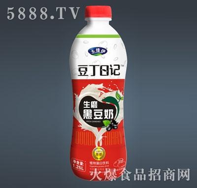 卡维伊豆丁日记黑豆奶1.25L