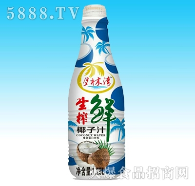 月林湾生榨鲜椰子汁1.25L