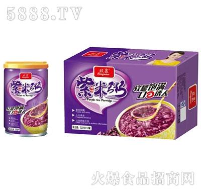 欣泉紫米粥320mlx12罐