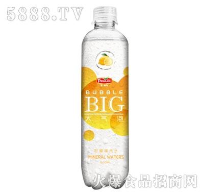 千屿大气泡柠檬味汽水500ml