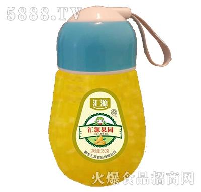 汇源果园芒果+椰果罐头350g