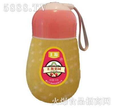 汇源果园桃汁+椰果罐头350g