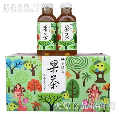 果茶柚子绿茶