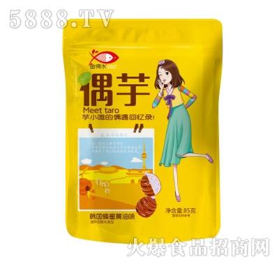 85g鱼得水偶芋系列韩国蜂蜜�S油味