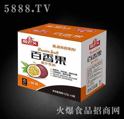 椰老头百香果汁1.25Lx6瓶