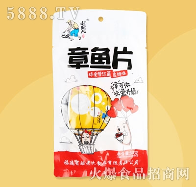 追鱼人章鱼片香辣味60g(袋中袋)产品图