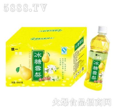 统一茶缘冰糖雪梨500mlX15