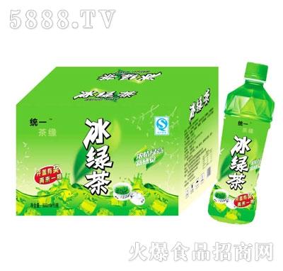 统一茶缘冰绿茶500mlX15