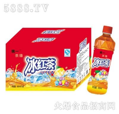 统一茶缘冰红茶500mlX15
