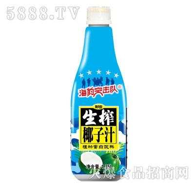 海豹突击队生榨椰子汁1.25L
