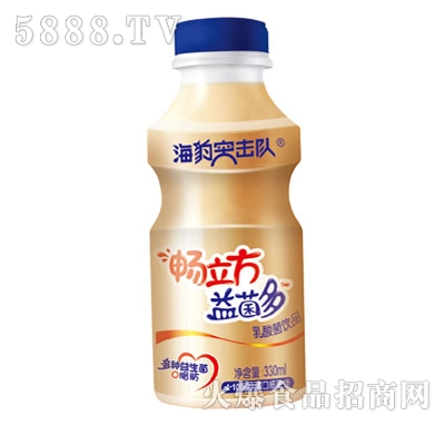 海豹突击队乳酸菌饮品330ml