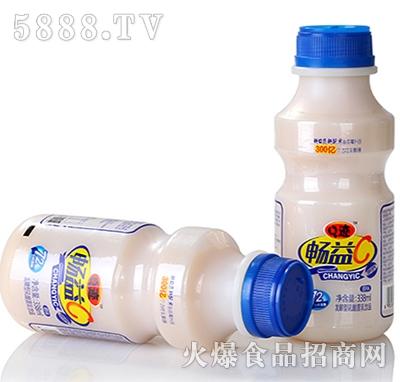 Q迹畅益C乳酸菌饮品瓶