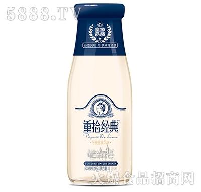 皇家品质重拾经典风味酸奶原味1L