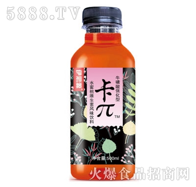 伊思源卡π牛磺酸强化型水蜜桃维生素风味饮料500ml