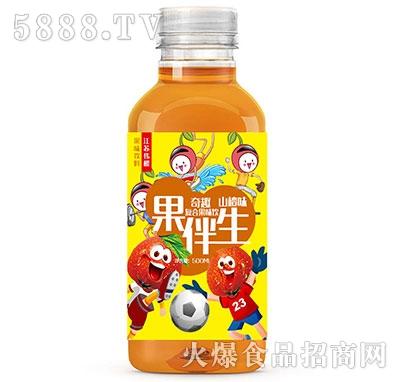 果伴生果味饮料山楂味500ml