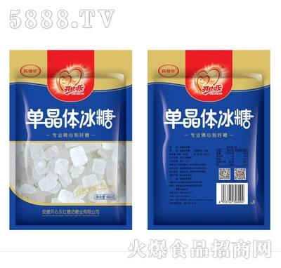 开心乐红糖单晶体冰糖400克