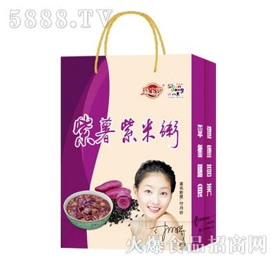 新宝锣紫薯紫米粥(袋)