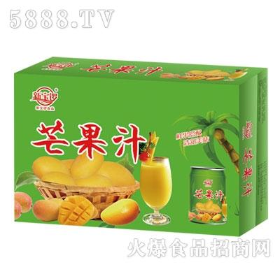 新宝锣芒果汁(箱)