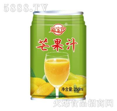 新宝锣芒果汁250ml