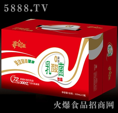 非常星乳酸菌饮品330mlx12瓶