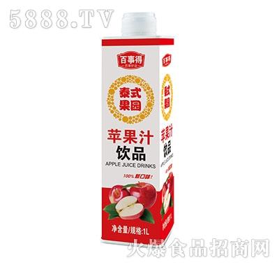 1L泰式果园苹果汁