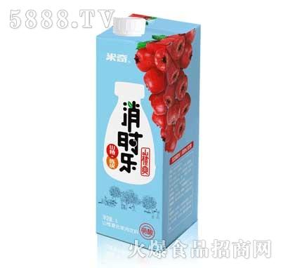 消时乐(萌酸)山楂爽1L×6盒