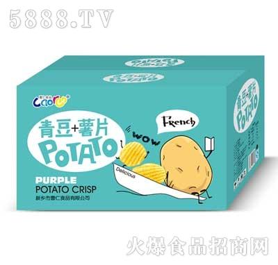 曹仁青豆薯片礼盒