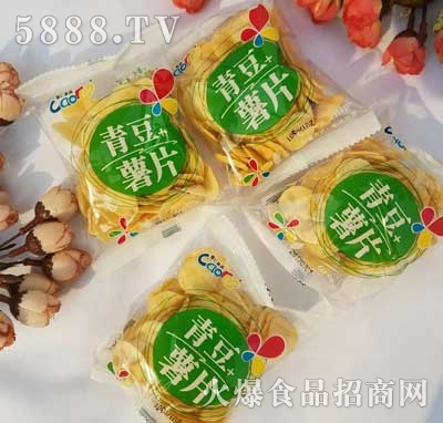 曹仁青豆+薯片散装