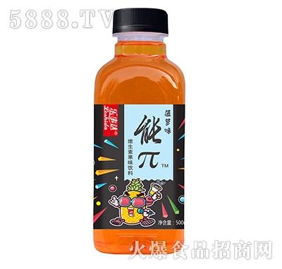 乐事达能π菠萝味维生素果味饮料500ml