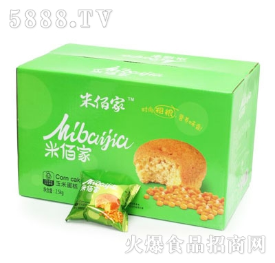米佰家玉米蛋糕2.5kg