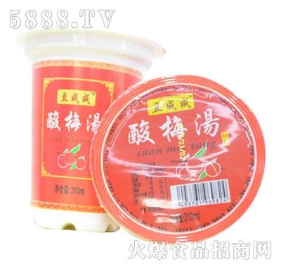 豆成成酸梅汤310ml(杯)
