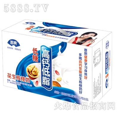 智典高钙低脂花生核桃奶(箱)