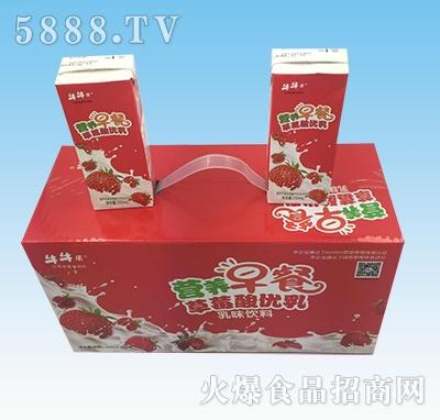 牛牛乐草莓酸优乳