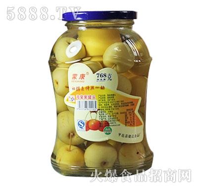 蒙康768g海棠果罐头