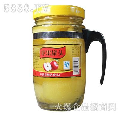 蒙康608g苹果罐头