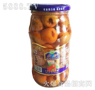 蒙康1kg山楂罐头