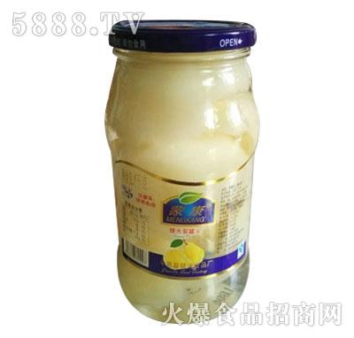 蒙康1kg糖水梨罐头